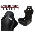 STATUS Standard Bucket Seats - CARBON FIBER / LEATHER