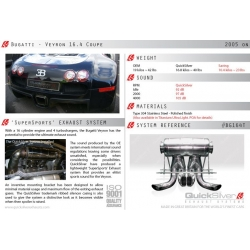 BUGATTI  Veyron 16.4 Coupe 'SuperSports Quick Silver