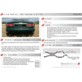 Aston Martin DB7 V12 - Sports Exhaust Complete System (1999-03)