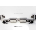 Porsche 991 Turbo 200 cell  Exhaust system  by kline innovation