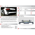 AUDI R8 V10 Titan  Exhaust System by Quicksilver